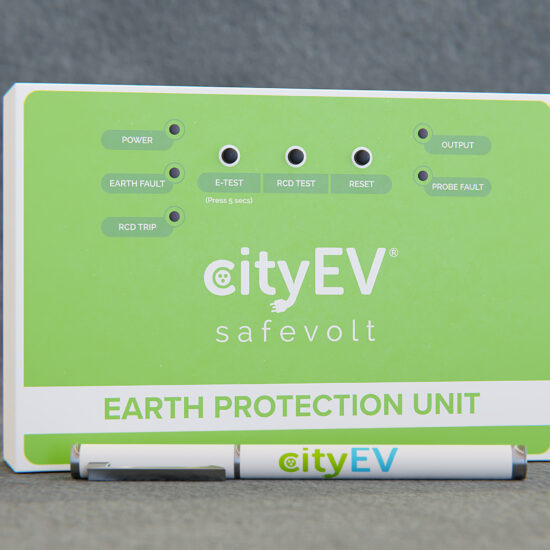 CityEV Safevolt® 300 EV PME Automatic Fault Detector Three Phase Version 22Kw