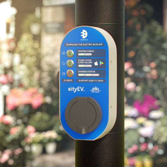New street lamp charge points installed