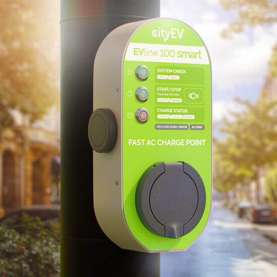 Portsmouth gets first CityEV charge points